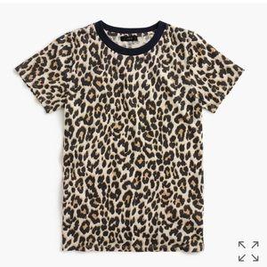 J crew leopard t-shirt